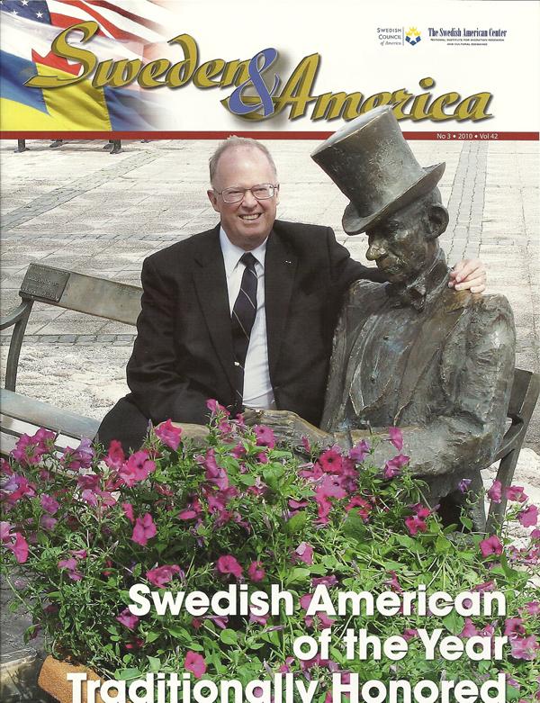 Sweden & America 3-2010, cover