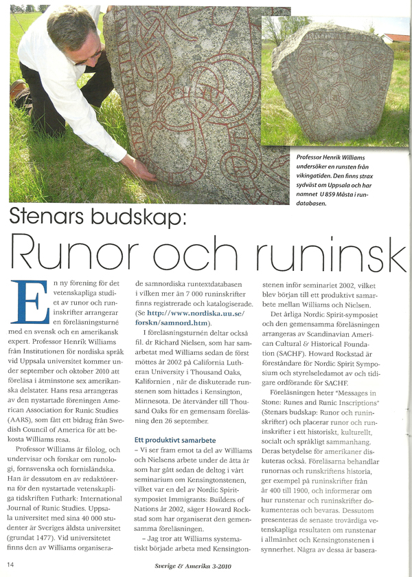 Sweden & Americe, 3-2010, page 1