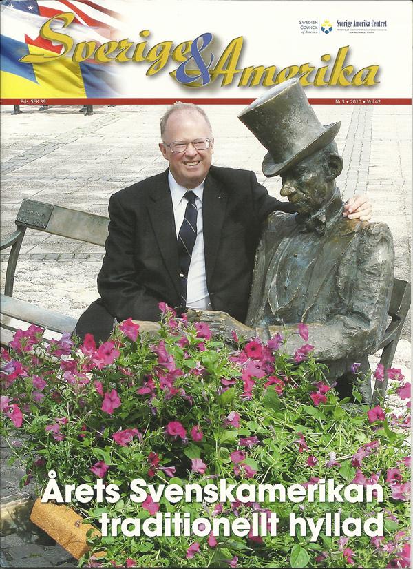 Sweden & America, 3-2010, cover
